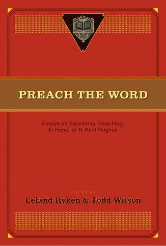 preach the word essays on expository preaching How to preach expository sermons isaiah was using expository writing because he was using an example of a lamb being led to the slaughter just as jesus was.