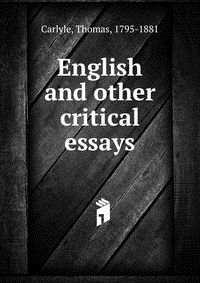 thomas carlyle essay on biography