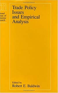 the empirical analysis of trade policy Trade policy issues and empirical analysis ideas/repec, robert e baldwin, 1988 trade policy issues and empirical analysis, nber books, national bureau of economic research, inc, number bald88 2, january.