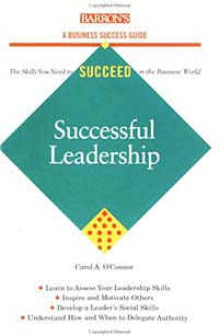a book analysis of successful leadership by c a oconner